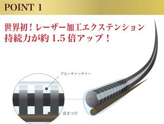 世界初レーザー加工エクステンション1